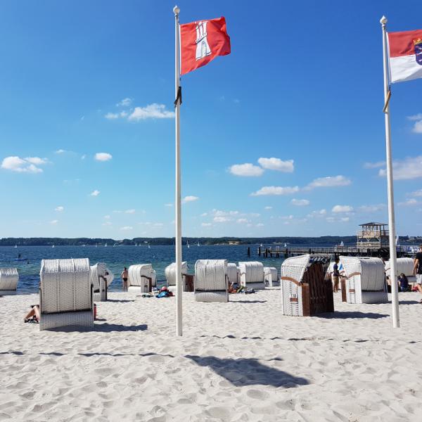 Sandwig Strand quadratisch