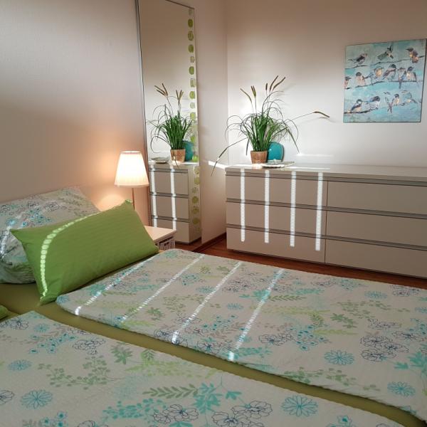 Schlafzimmer quadratisch